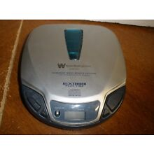 White Westinghouse WDM13601 CD Compact Player Portable Extended Play Time Works