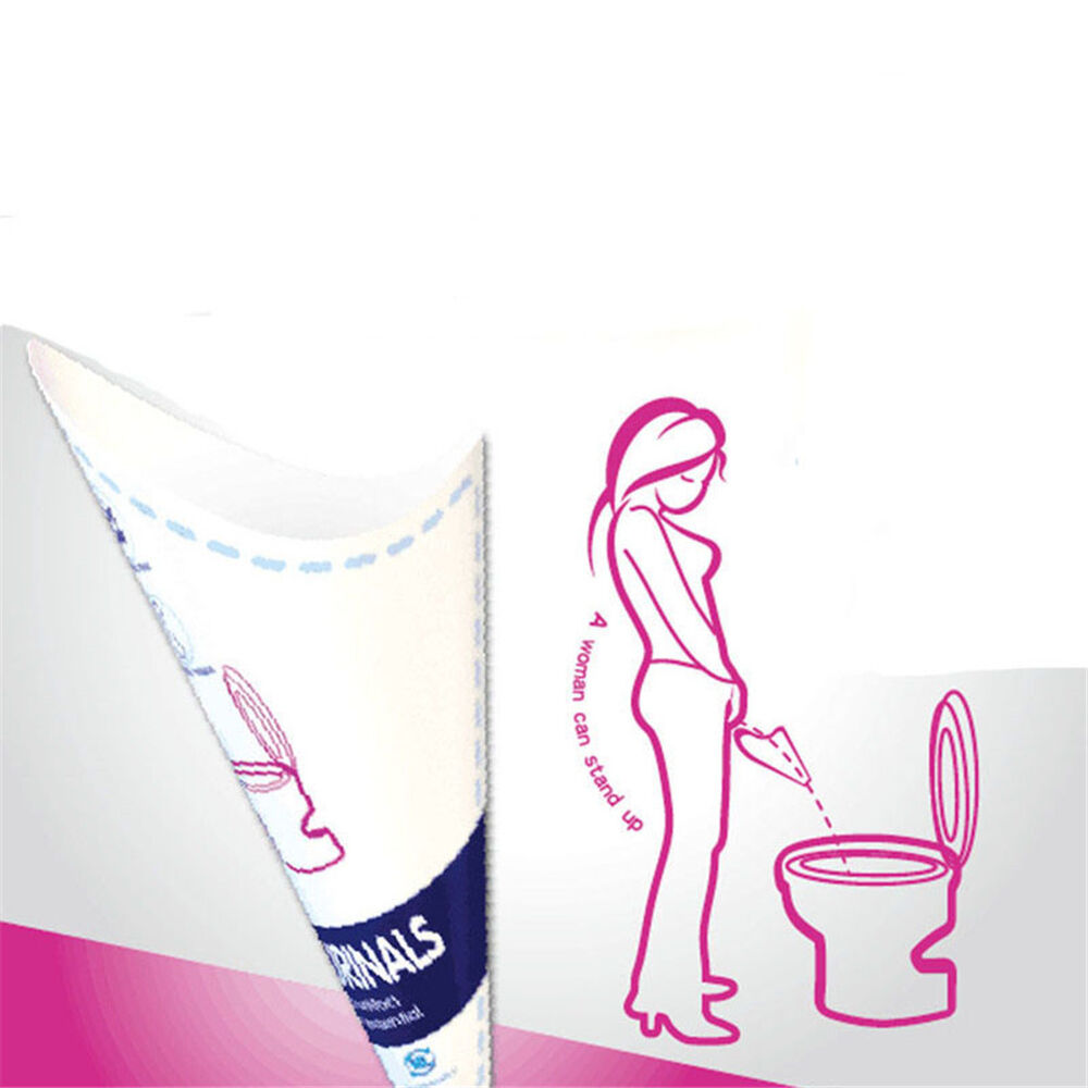 10Pcs//Bag Disposable Female Urinal Funnel Urination Device for Travel Camping NS