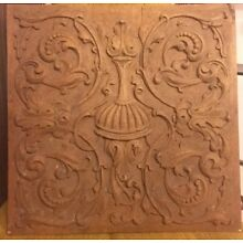 Philadelphia PA architectural salvage antique hand carved panel