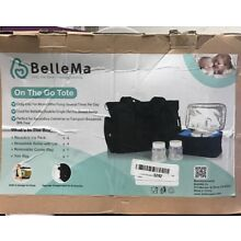 Electric Breast Pump with On The Go Tote, Bellema E3 Pro Customizable Settings