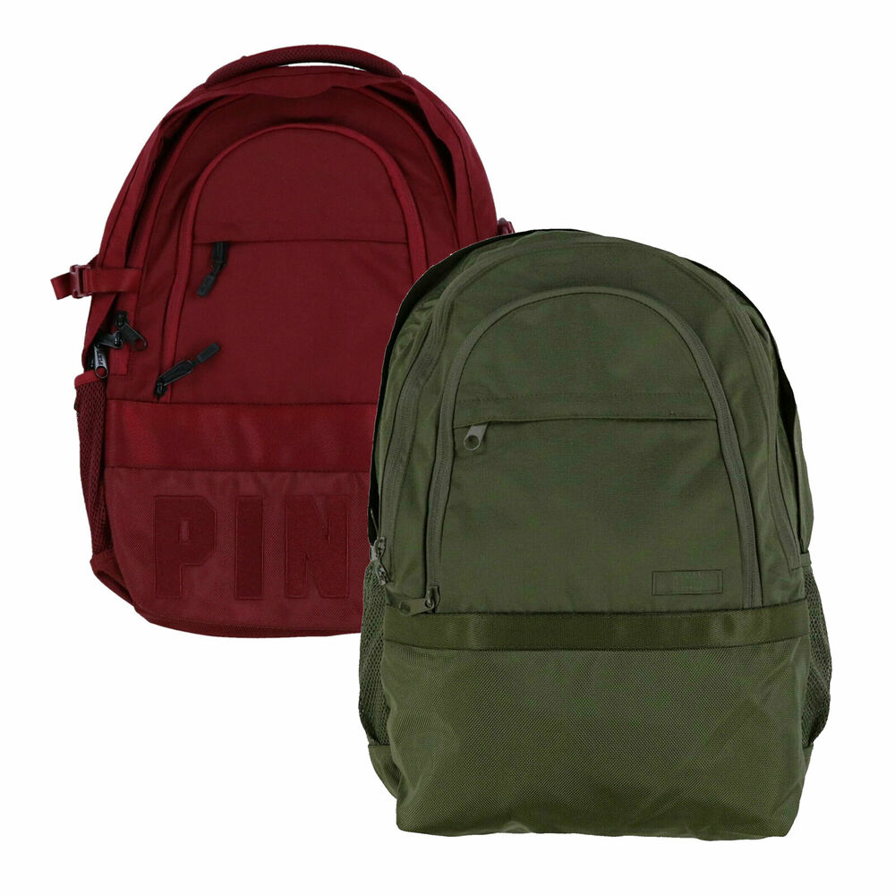 Victoria's Secret Pink Backpack Collegiate