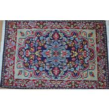 2'1x3'2 Amazing Colors Fine Authentic Persian Kermann Hand Knotted Wool Area Rug