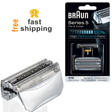 foil cassette replacement head for braun shaver trimmer for series 8000 5 51S