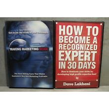 DAVE LAKHANI 2 CD Courses - Making Marketing Work & Become Expert in 30 Days