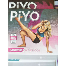 New PIYO Workouts Deluxe Full Set 5Dvd W/ All Guides Free Shipping