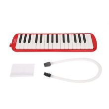 32 Key Red Melodica Harmonica & Exclusive Carrying Case