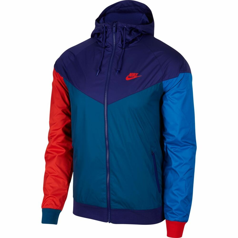 aa03bee94e Details about 727324-590 Nike Windrunner Jacket Purple Blue Red M-4XL