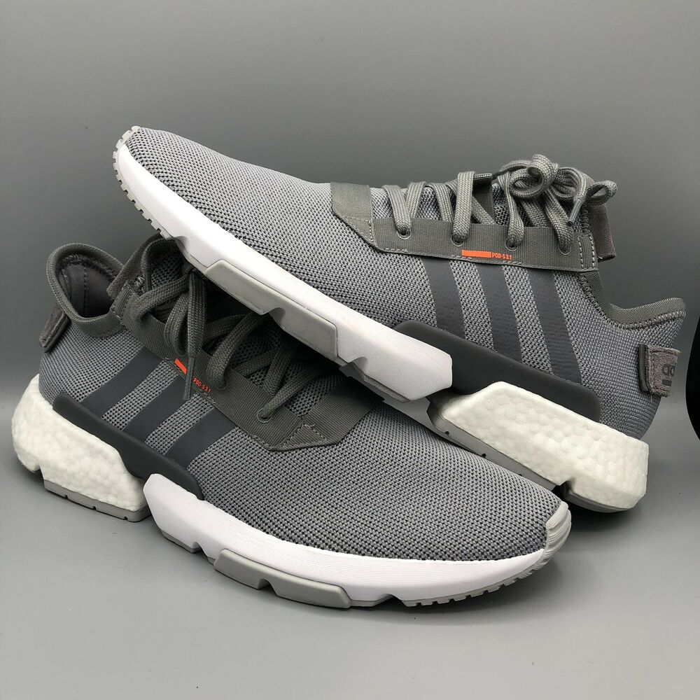various colors 44d67 3f813 Details about Adidas Originals POD S3.1 Grey White B37365 Size 13 US Mens  Ultraboost Boost