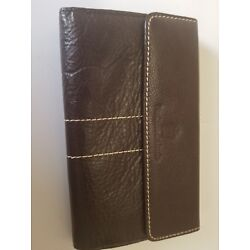 PierCarlo d'Alessio leather large wallet