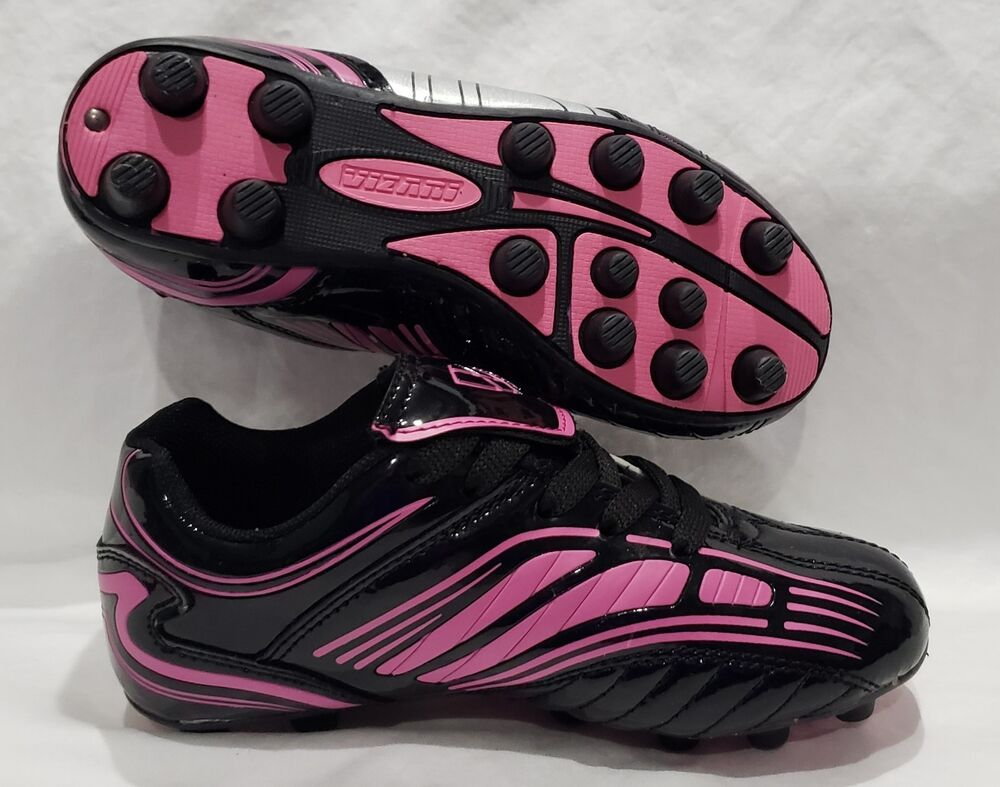 2e6eb07ae3e Details about YOUTH SOCCER futbol shoes CLEATS Vizari Striker FG New in Box