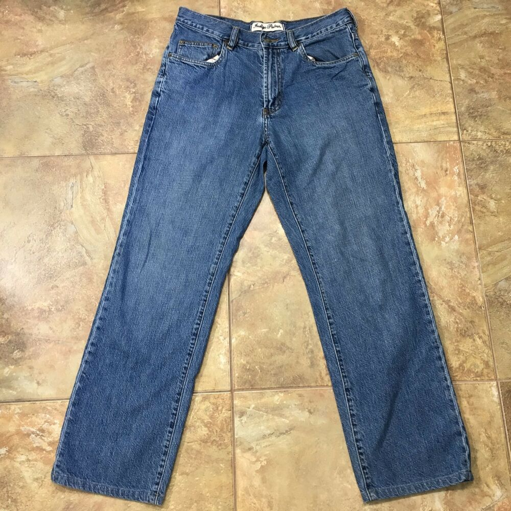 252eb9d4 Details about Indigo Palms by Tommy Bahama Classic Fit Straight Leg Jeans  32 x 29.5