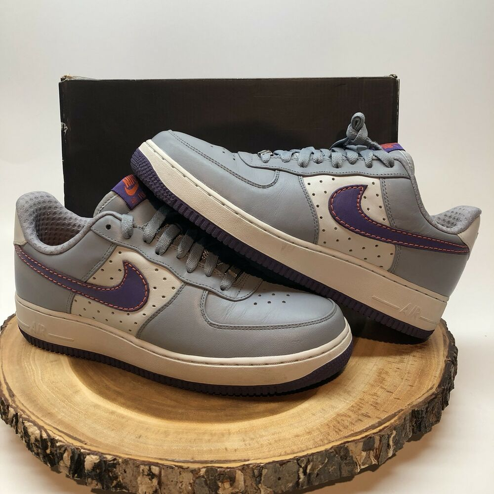 552b578d1b7b6d Details about NIKE AIR FORCE ONE LOW PREMIUM AF1 317314 051 Charles BARKLEY  CB34 1 2 Suns
