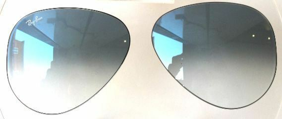 2d52eec2b4 LENSES SPARE PART RAY BAN 8307 58 3F BLUE GRADIENT REPLACEMENT LENSES BLUE  FADED