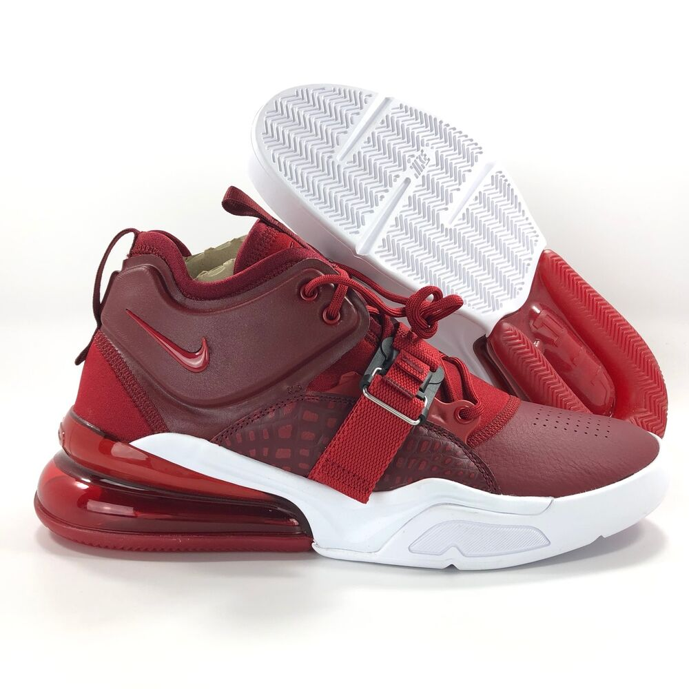 Details about Nike Air Force 270 Red Croc Team Red White Black AH6772-600  Men s 10-13. Popular Item a7d1fa603