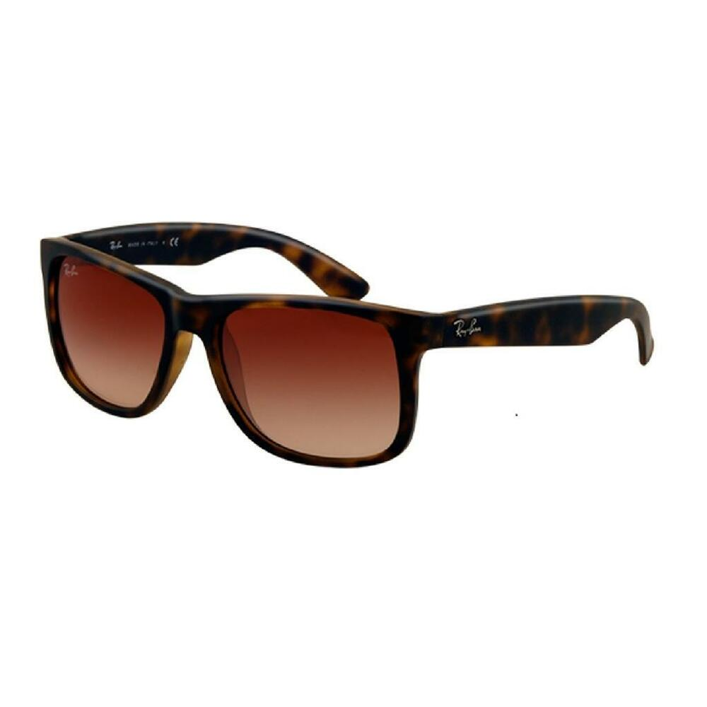 bd8e3c806a Details about New Authentic Ray-Ban Sunglasses Justin RB 4165 710 13 - 54mm  Havana Brown