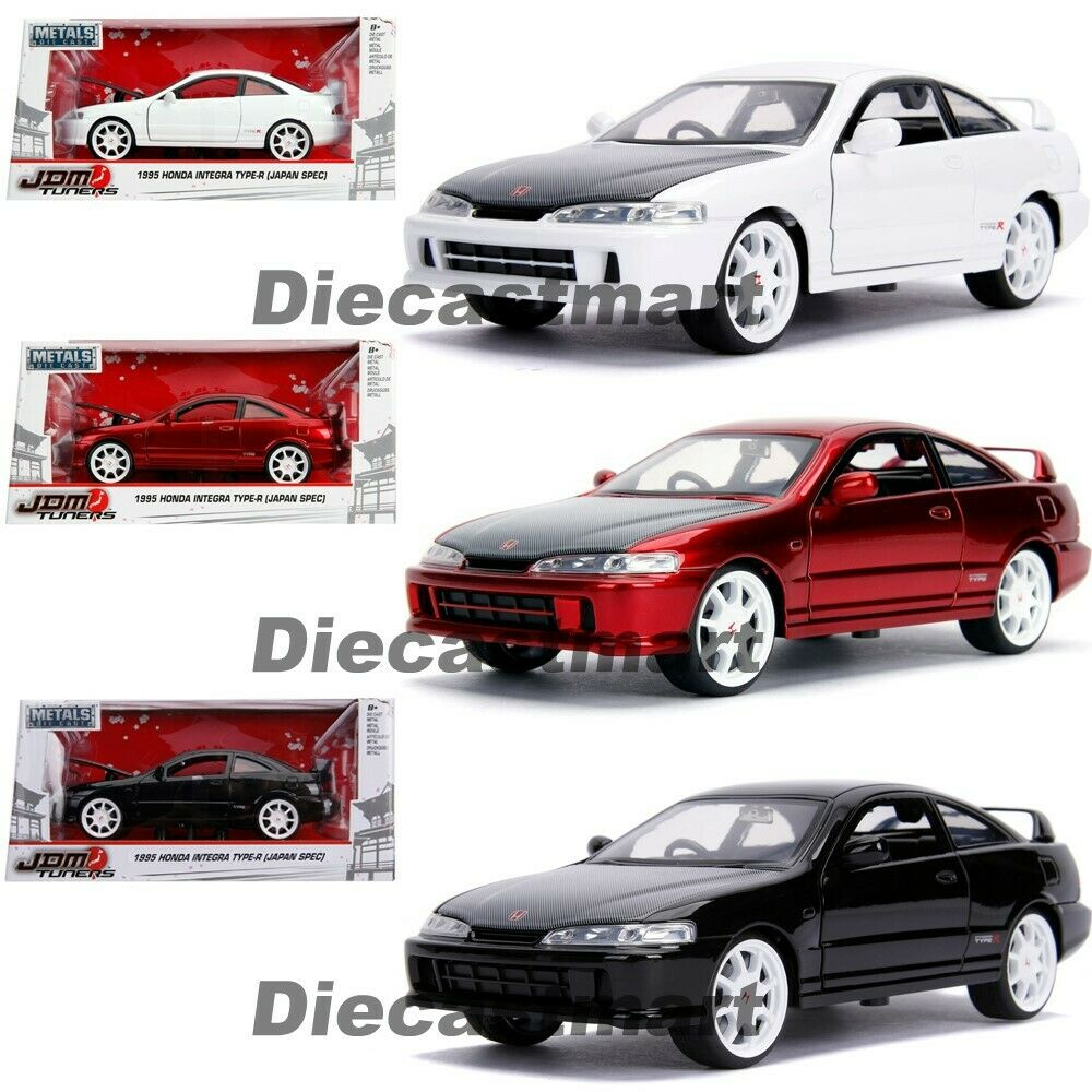 Jada 1:24 JDM Tuners 1995 Honda Integra Type R Black / Red