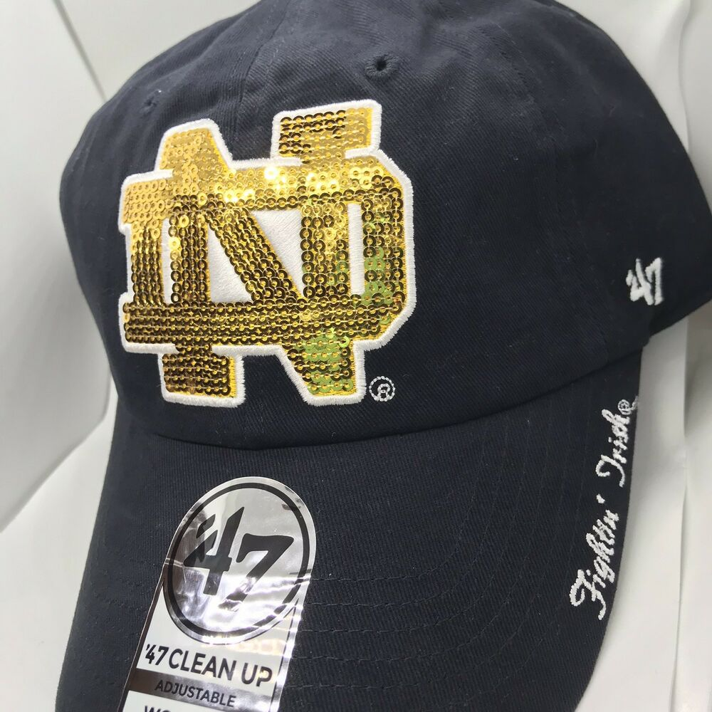 06b3e7d25fe81 ... brand trailway closer flex hat green 33455 4f6a7  clearance details  about nwt 47 notre dame fighting irish womens hat sequin logo clean up cap