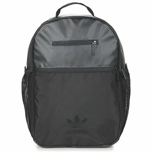 NEW RETRO ADIDAS SUPERSTAR BACKPACK RUCKSACK SPORT BAG BLACK  4d1407419790c