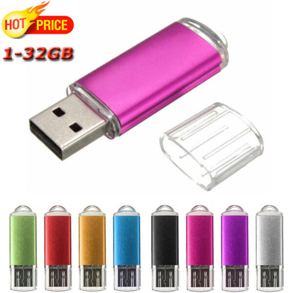 Flash Memory Stick Pen Drive U Disk Swivel Key 1GB~32GB USB 2.0 BE