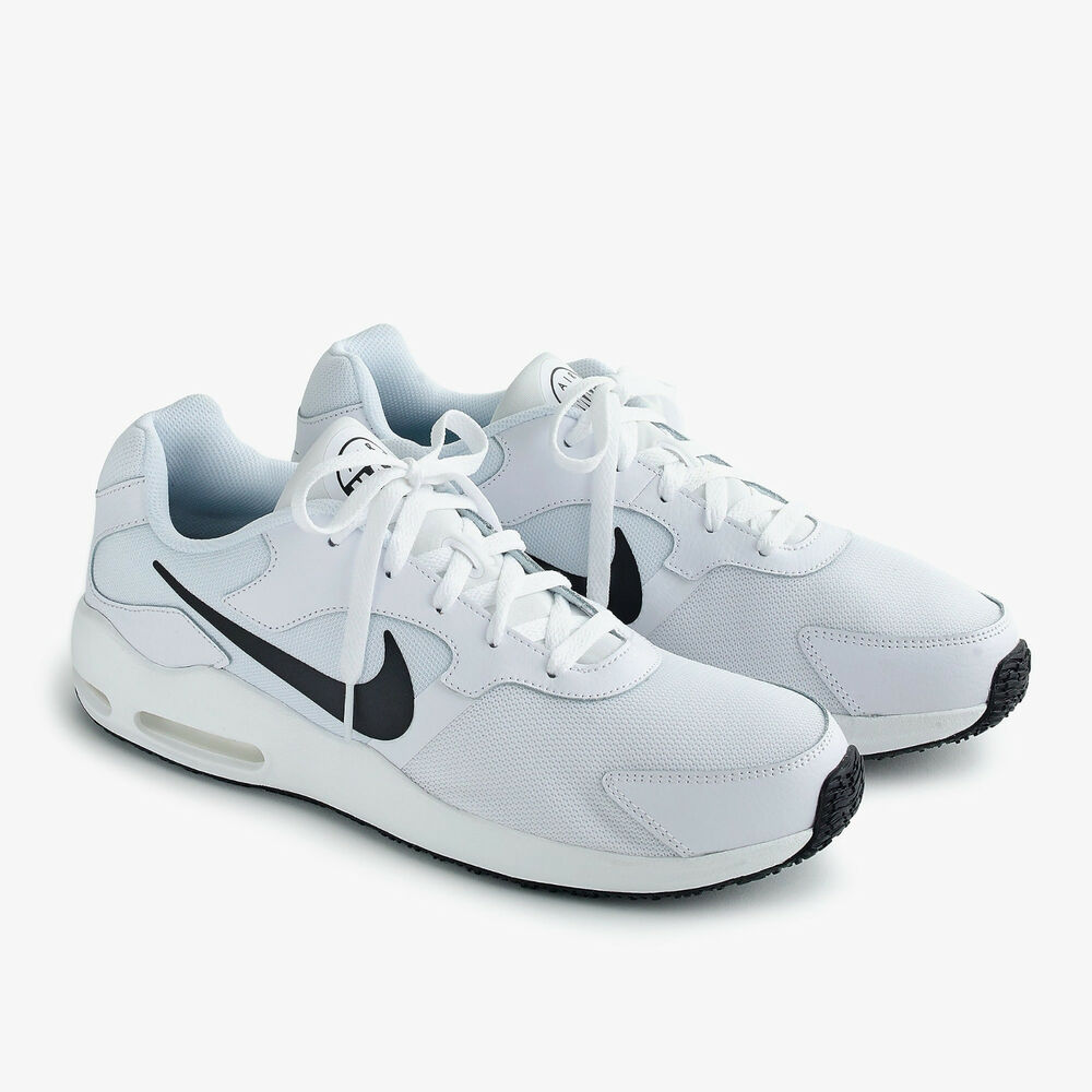 the best attitude aa80f 43992 Details about Nike Air Max Guile for J. Crew Men's Classic Running Shoes  White NEW US 9.0