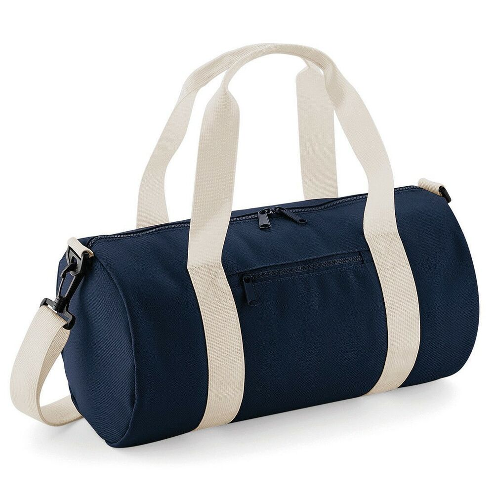 e8689d4960 Details about BagBase Mini Barrel Bag Small Funky Gym Sports Holdall Duffel  Style (BG140S)