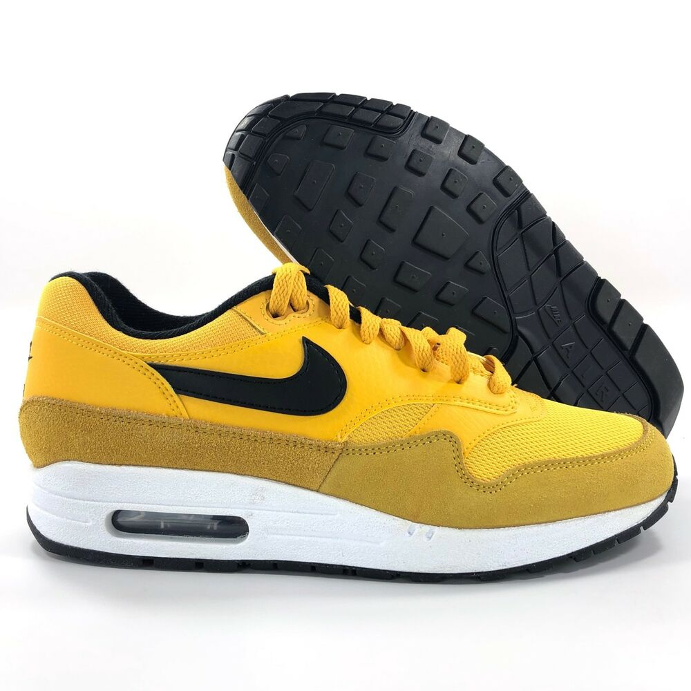 new style 7289e 429b4 Details about Nike Air Max 1 Premium University Gold White Black BV1254-700  Men s 7.5-10