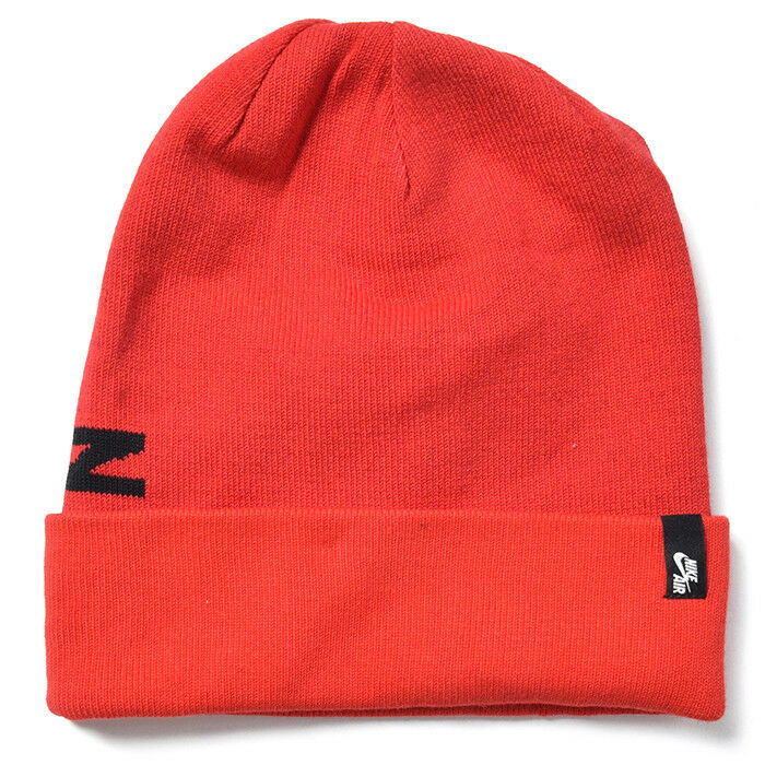 Details about NEW NIKE AIR MAX FUTURA BEANIE WOOL 1SFA RED HAT CAP 00e47e7810a