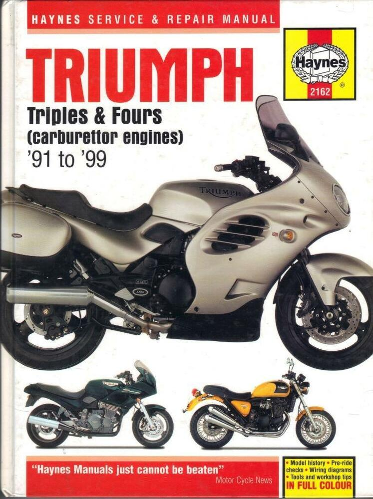 triumph trophy,trident,speed triple,daytona,sprint,tiger,haynestriumph trophy,trident,speed triple,daytona,sprint,tiger,haynes manual 1991 1999 ebay
