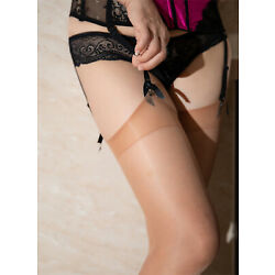 Kyпить Glossy Shiny Garter Stockings  Vidrio High Gloss Nylons 15 Denier CdR на еВаy.соm
