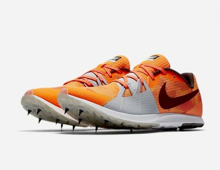 3d6e039fc98 Details about Nike Zoom Rival XC Men Spikes Cross Country Racing 904718 806  Orange Size 5.5