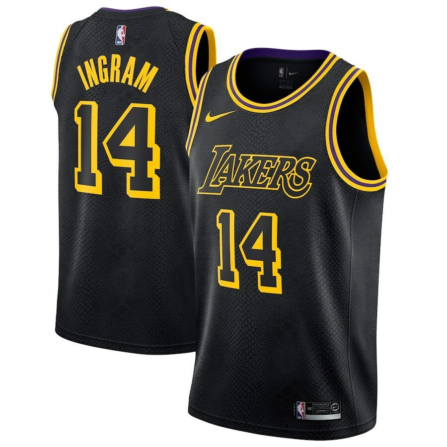 85b887b51 Details about 2018 Nike NBA Los Angeles Lakers Brandon Ingram 14 Swingman  City Edition Jersey