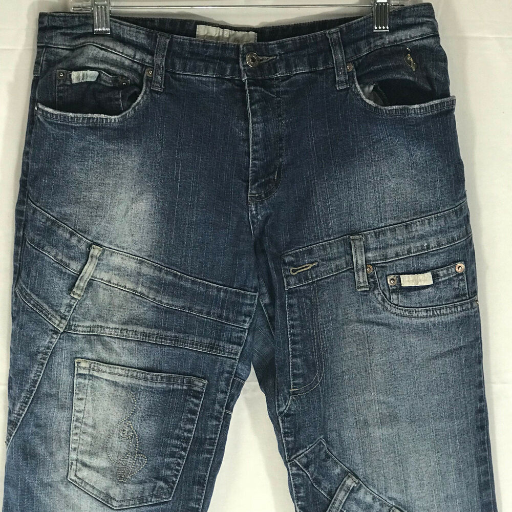 c421248521e Details about Baby Phat distressed Capri Jeans size 13