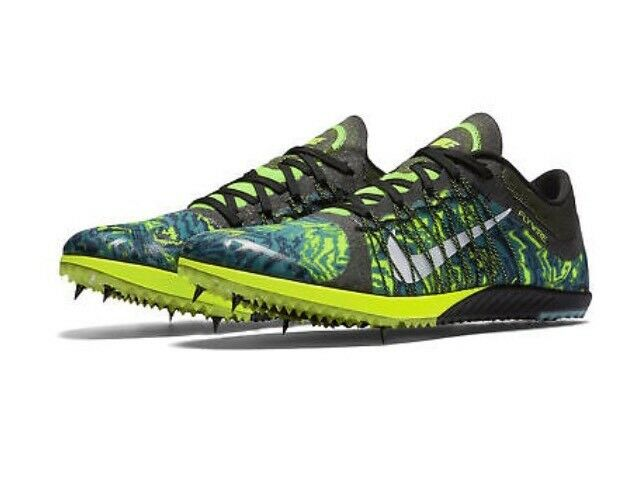 hot sale online 667b2 67df7 Details about Nike Zoom Victory XC 3 Mens Spikes Shoes Cross Country  654693 007 Green Size 7