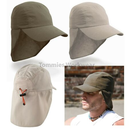 img-Result Legionnaire Cap Holiday Baseball Hat Neck Holiday Sun Protection (RC69)