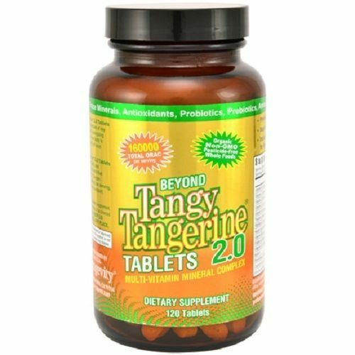 Youngevity  Beyond Tangy Tangerine  BTT 2.0 Tablets - 120 Tablets - FRESH