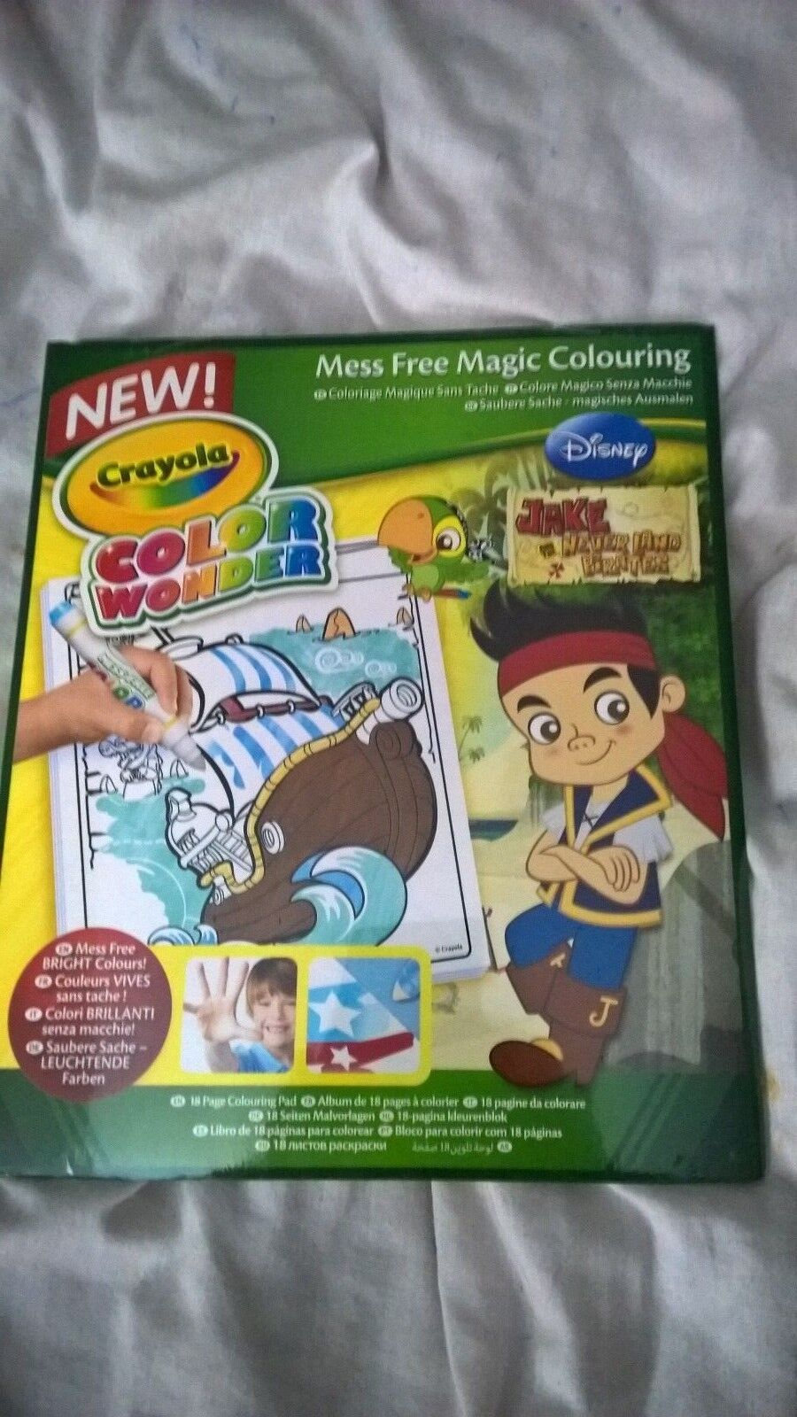 Upc 071662102159 Crayola Color Wonder Refill Book Jake And The
