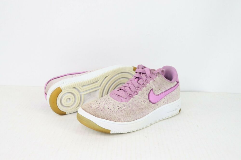 Nike Womens Size 7 Air Force 1 Low Flyknit Sneakers Shoes