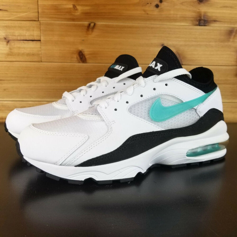 c55a799185 Details about Nike Air Max 93 OG Dusty Cactus 2018 Retro White Black 306551- 107