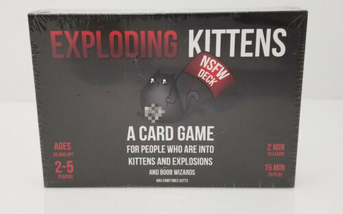 Exploding Kittens: NSFW Edition Grown-Up Toys (Explicit Content)