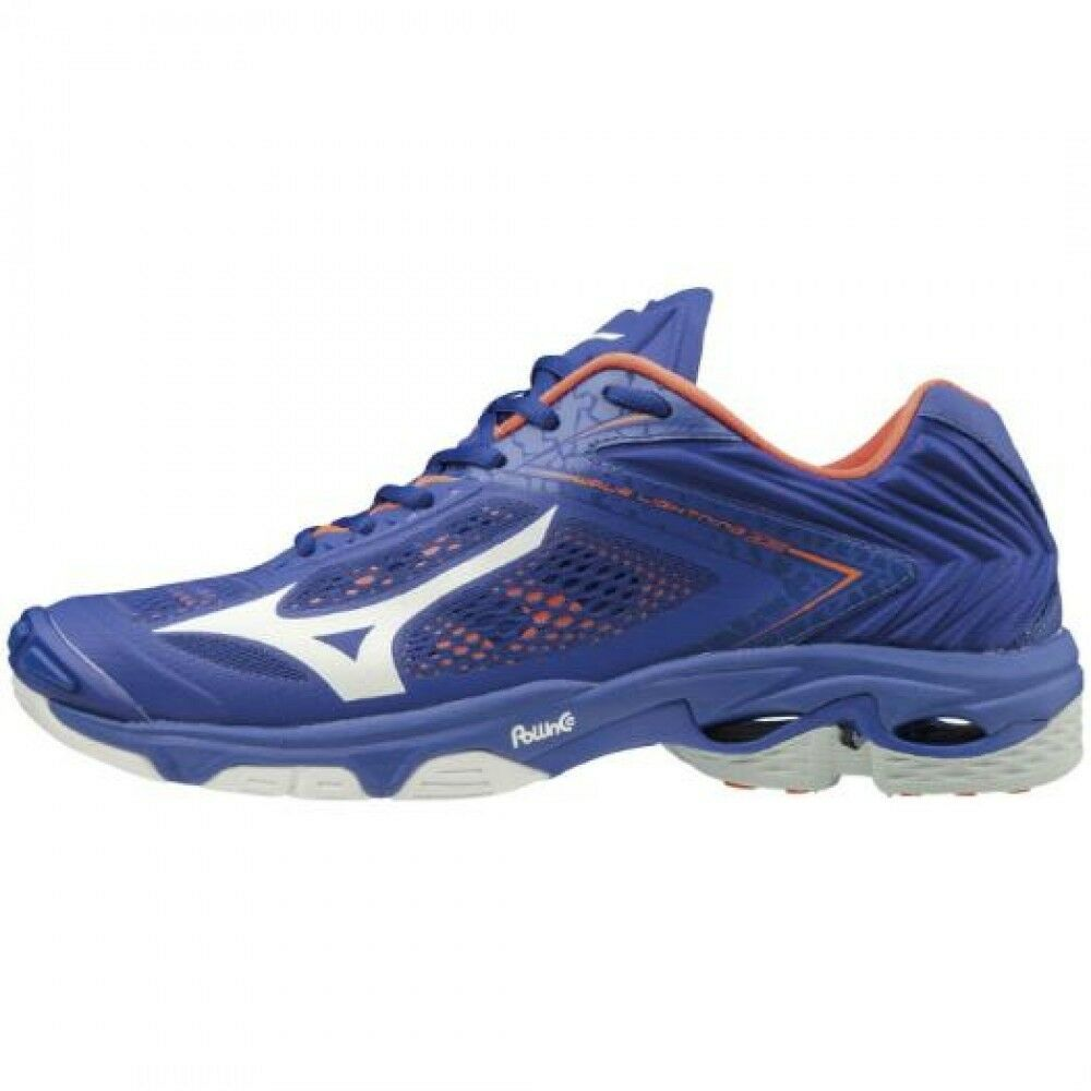 429771f9c25f Details about Mizuno Volleyball Shoes WAVE LIGHTNING Z5 V1GA1900 Blue ×  White × Orange
