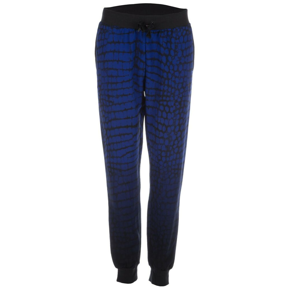 dbb43fe19a91 Details about Adidas Originals Women s NY Printed Cuffed Track Pants