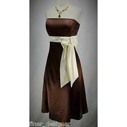 Beleza Dress strapless Formal Cruise Cocktail Avant Garde GLAM Gown Sexy XL NEW