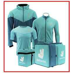 FULL DELIVEROO PRO SERIES KIT!  2x Jackets, Underlayer, Inner+Outer Thermal Bags