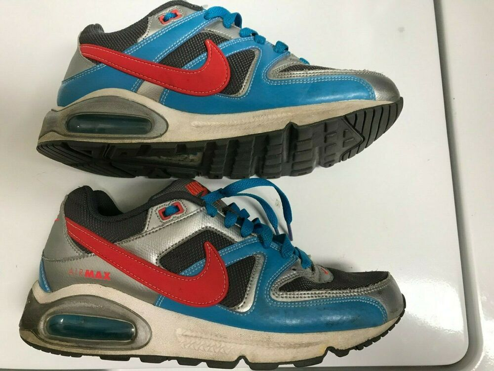 dcfc0bd9cfa8 Details about NIKE AIR MAX 90 COMMAND Style  397690-064 Blue Grey Coral  Women s Size 8