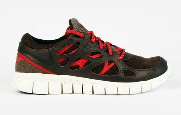 buy popular b5b8e a49a2 Details about NEW NIKE FREE RUN (+2) NRG MEN'S SHOES #577182 200 BROWN RED  WHITE 8 or 10