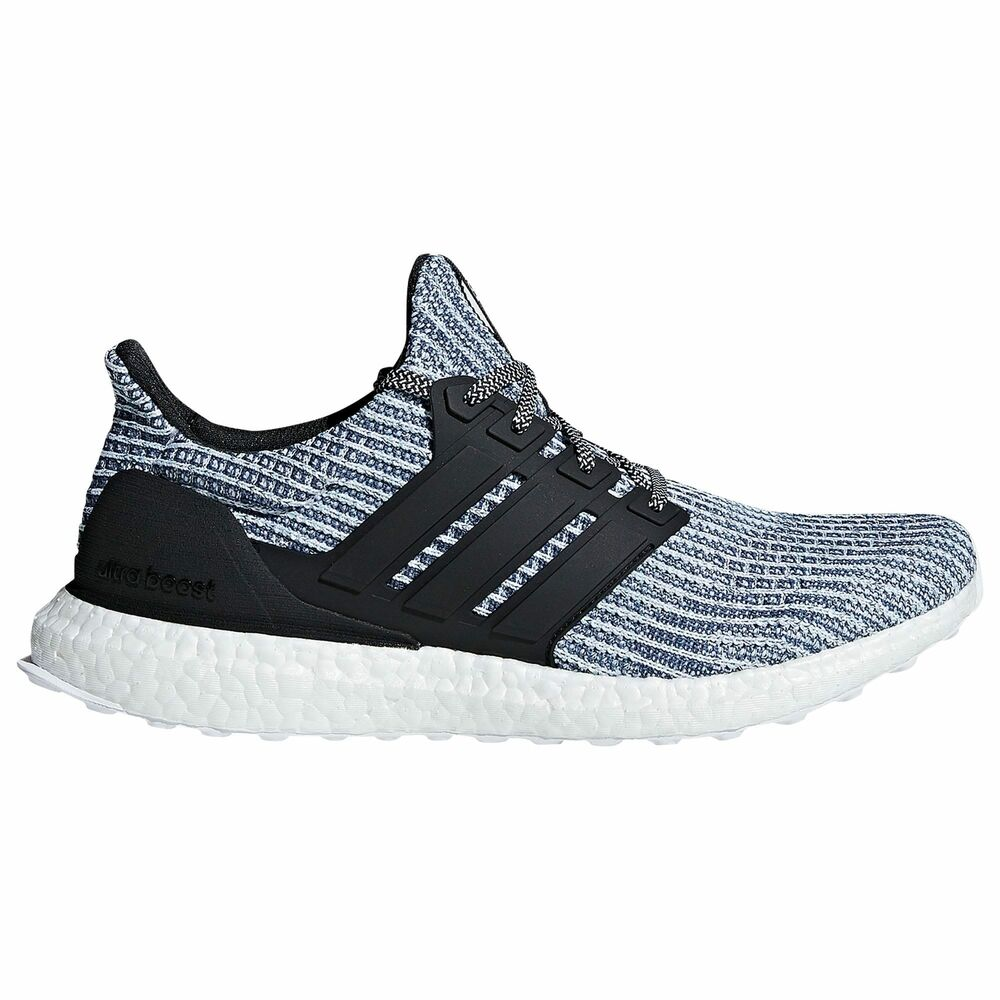 c8448ee0422 Details about adidas Ultra Boost Parley Men s Footwear White Carbon Blue  Spirit BC0248