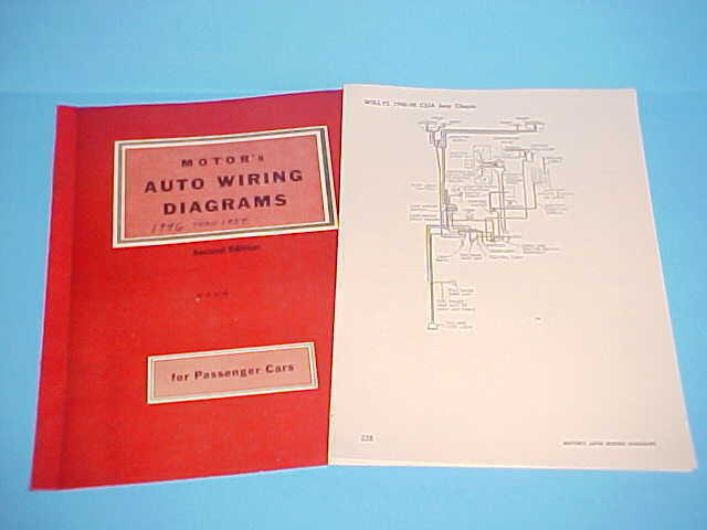 1946 1947 1948 1949 1950 1951 1952 1953 1954 willys jeep cj2a wiring diagrams ebay Dump Trailer Wiring Schematic