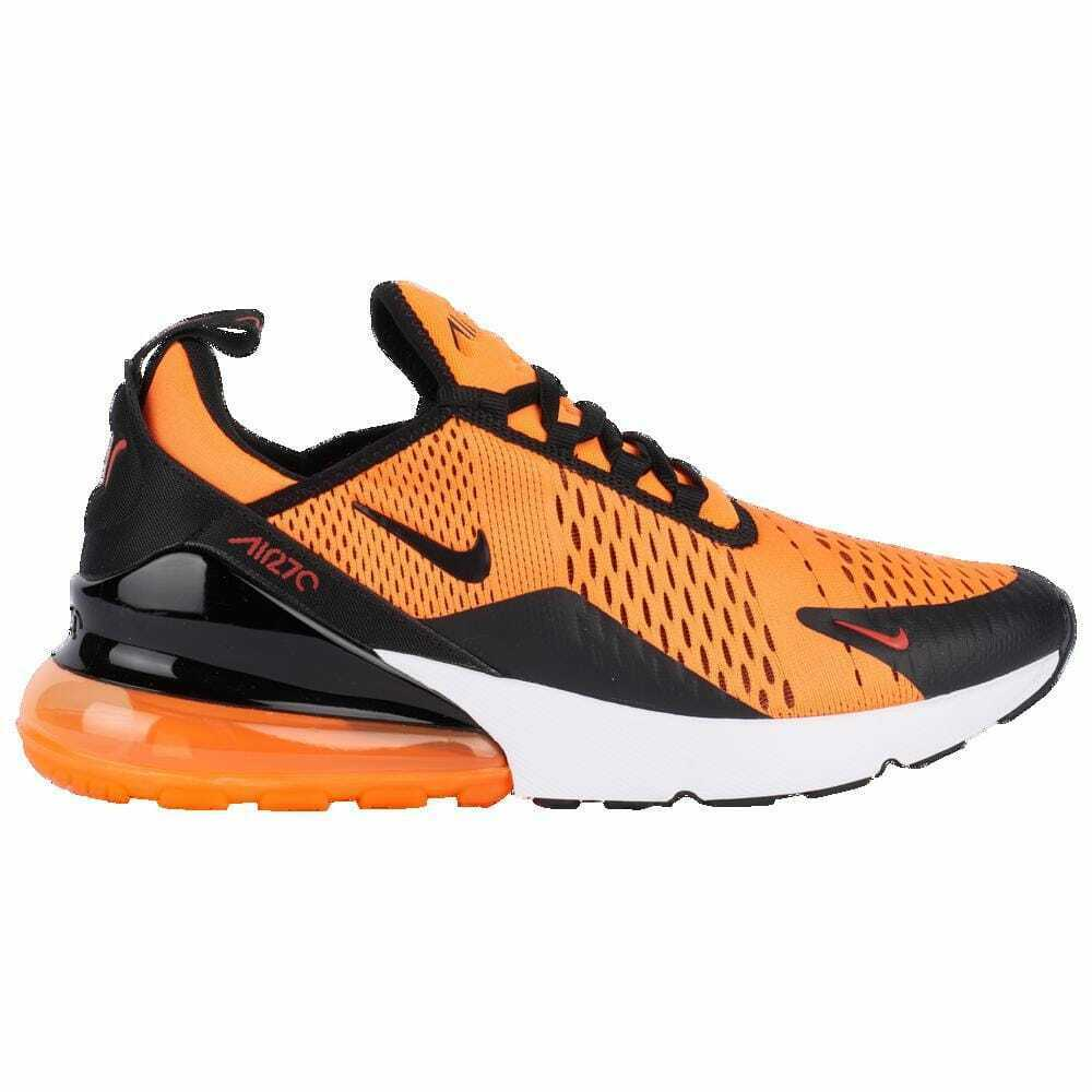 1be8caea13465 Details about Nike Air Max 270 Team Orange Black White Chile Red Men s  V2517800