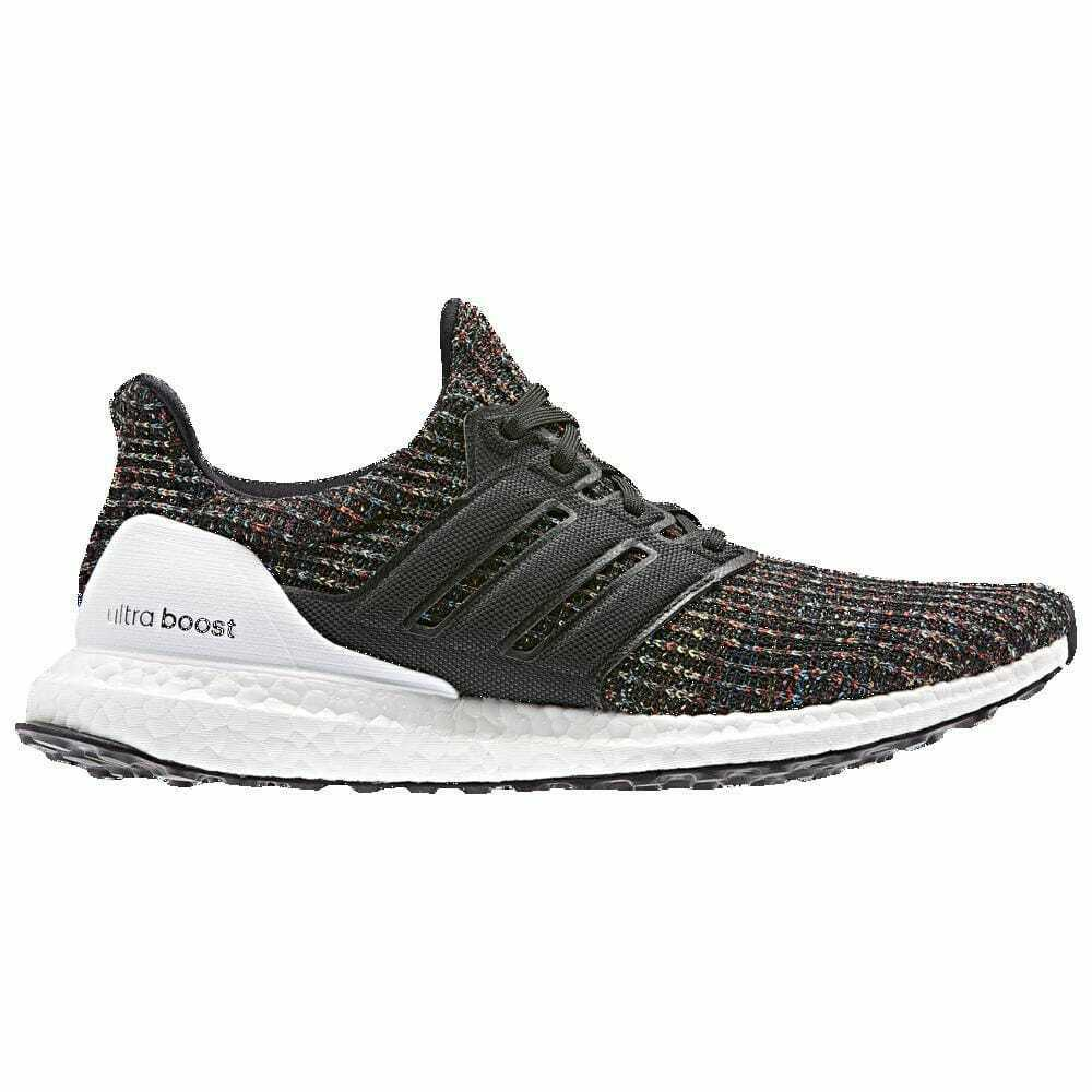 new arrival 49e17 a4324 Details about adidas Ultra Boost Core Black White Active Red   CMYK Story  Men s FF35232