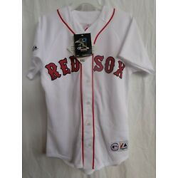 Boston Red Sox YOUTH Majestic Replica Home Jersey - No Name -  $20 Off SRP NWT